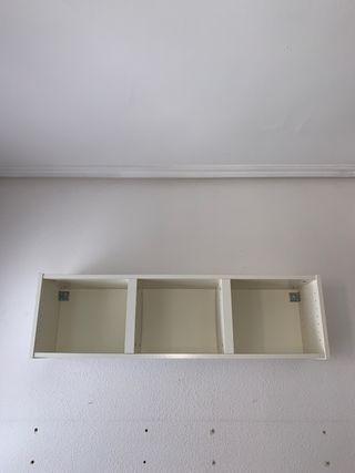 Estantería pared de Ikea