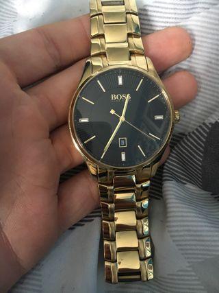 Men's Hugo boss watch gold
