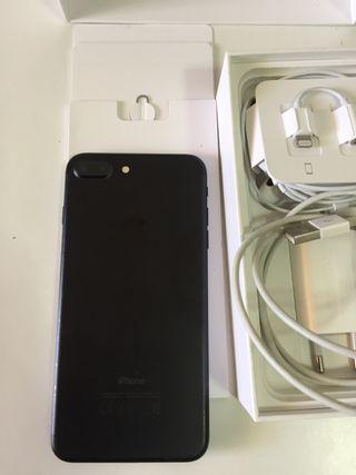 iphone 7plus 128 G negro Mate