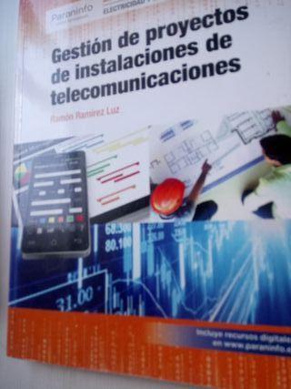 Gestión de Proyectos Telecomunicaciones Paraninfo