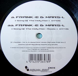 (S0101) Frank-E & Mars-L Song Of The Holy Man