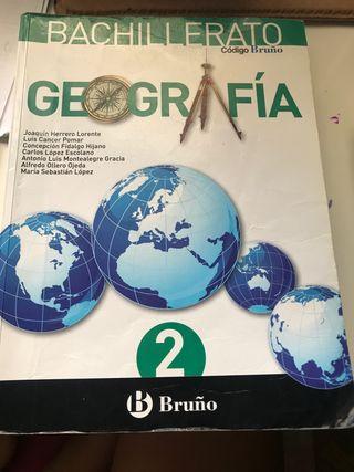 LIBRO GEOGRAFÍA 2 BACH