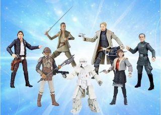 Star wars Black Series lote de 7 figuras wave 18