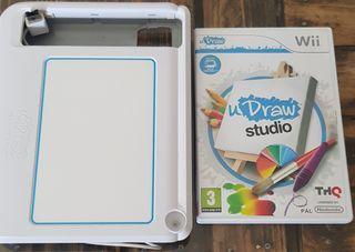 juego wii draw studio con tablet