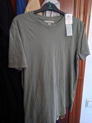 camiseta caqui