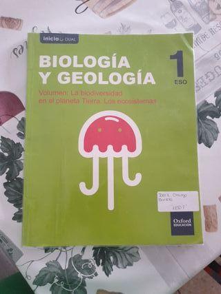 Libro de Biologia 1ESO OXFORD