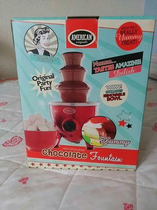 Fuente de chocolate American Originals sin uso