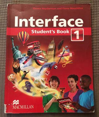 Libro Inglés Interface 1ESO Macmillan