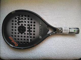 Raqueta de paddle titanio-carbono