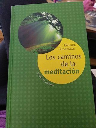 """Libro """"Los caminos de la meditación"""", D. Goleman"""