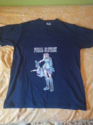 camiseta final fantasy XIII