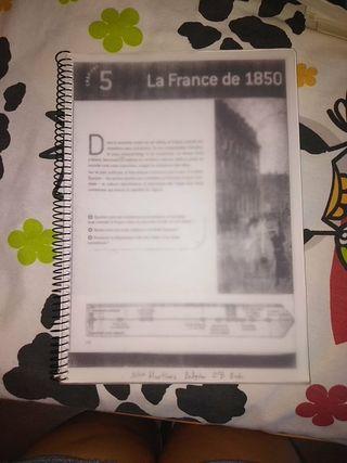 Libro de historia de Francia 2° bachiller