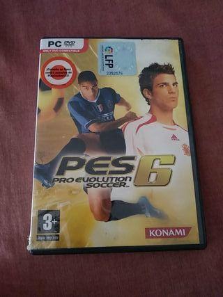 PRO EVOLUTION SOCCER 6 PC