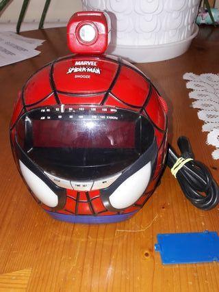 Reloj de spiderman con proyector