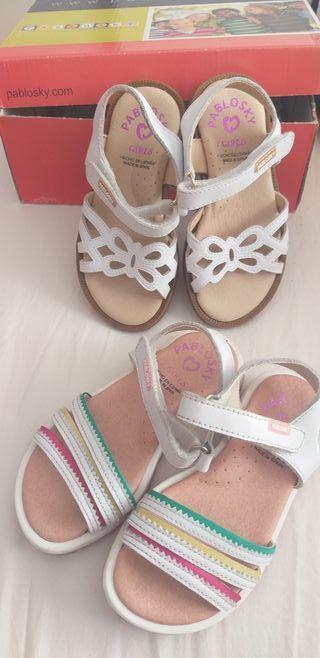 Sandalias niña N°24