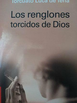 """Libro """"Los renglones torcidos de Dios"""""""