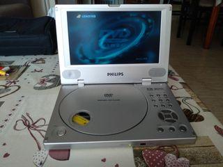 Reproductor DVD portátil Phillips PET800