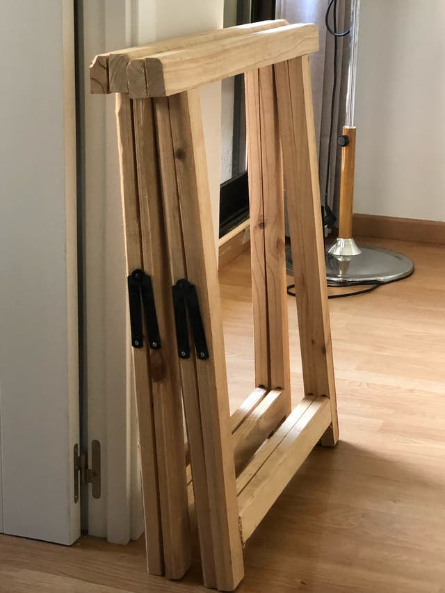 Caballos de madera - caballetes de Madera