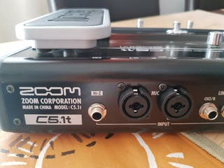 ZOOM ZFX control panel de effectos