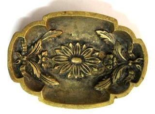 cenicero bronce frances antiguo