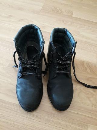 Botas negras,N°36 de Jardinero