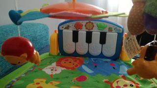manta/piano actividades bebe