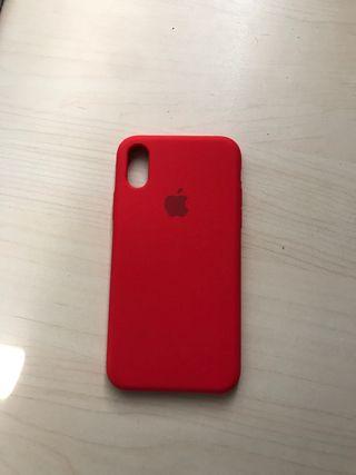Funda iphone x y xs roja