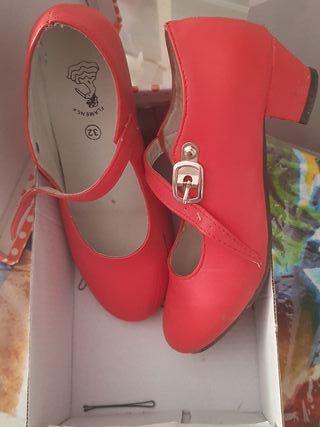 Zapatos flamenco de segunda mano en Marbella en WALLAPOP