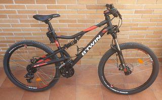Bicicleta De Montaña Rockrider De Segunda Mano En Madrid En Wallapop