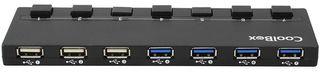 Hub USB de 7 Puertos CoolBox