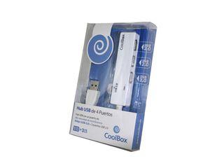 Hub USB de 4 Puertos CoolBox