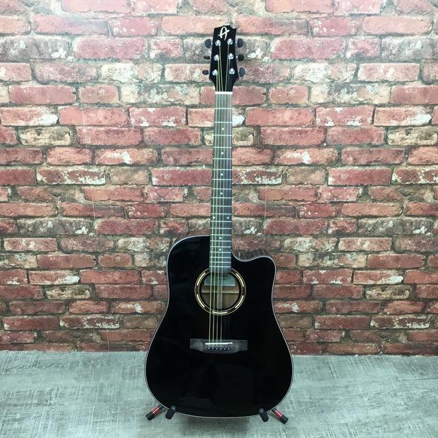 Guitarra electro-acústica J.Alvarez AV-52BK