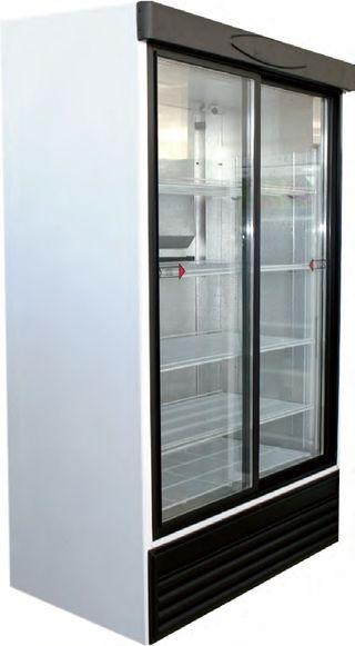 Armario expositor refrigerado 2 puertas correderas