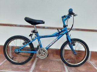 """Bicicleta niño MONTY 16"""""""