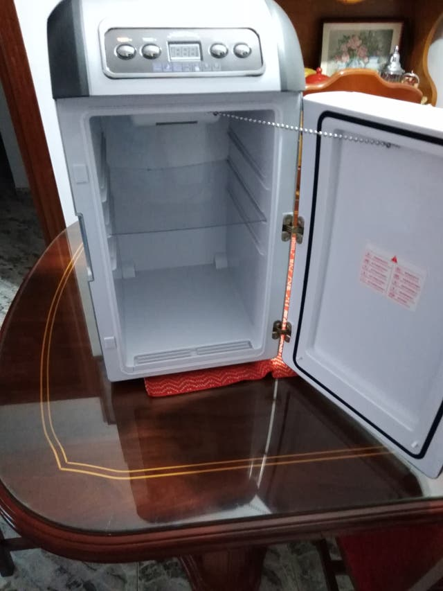 mini frigorífico portátil