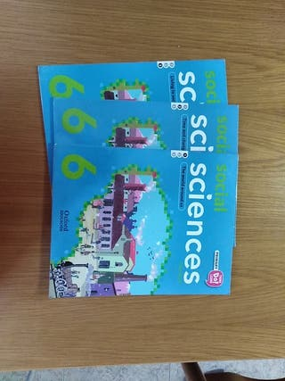 Libros de 6 de primaria Social