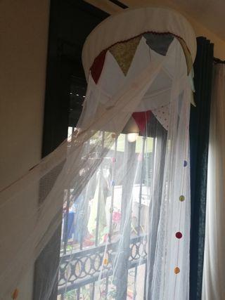 Cortina mosquitera infantil dosel ikea