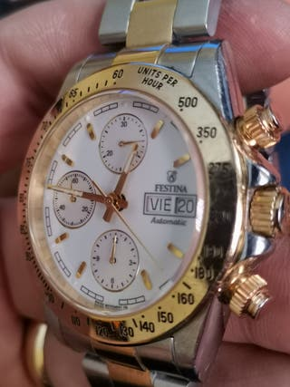 Reloj oro 18k Automátic Chronograph
