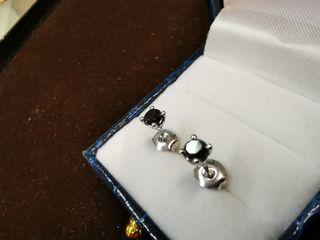 conjunto diamantes negros nuevos