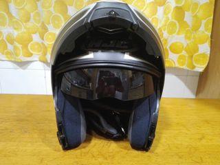 Casco moto HJC, Talla M, modular