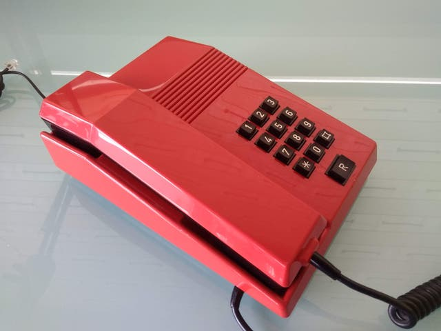 Teléfono ochentero