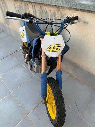 Mini moto de gas