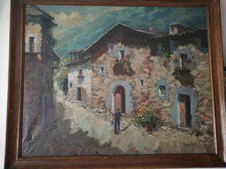"""Óleo de Tàpias """"vall d'Aran"""""""