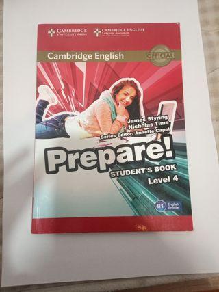 prepare, studet's book level 4
