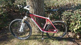 Bicicleta Conor wrc carbon team