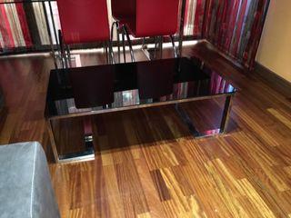 Mesa grande para salón comedor y mesa fumador