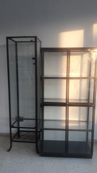 vitrinas, estanterias