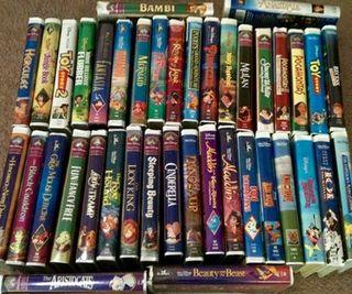 Se venden cintas Disney originales totalmente