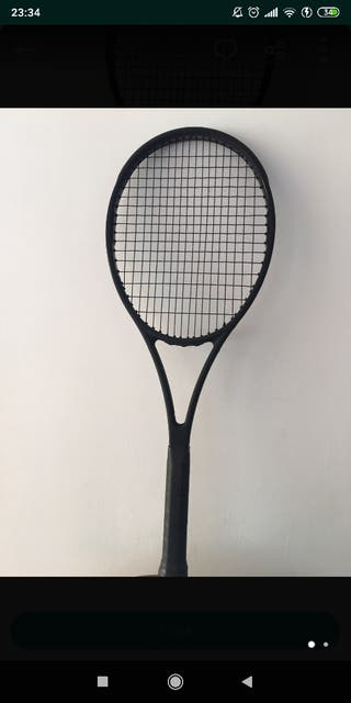 raqueta Wilson pro staff autografh