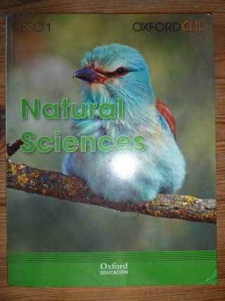 Libro 1º ESO NATURAL SCIENCES Oxford